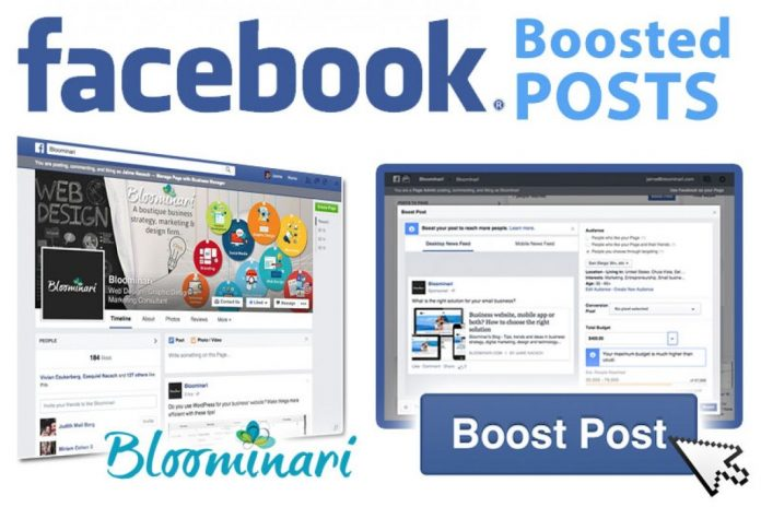 Boost Posts On The Facebook