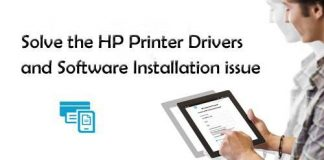 HP Printer Drivers and Software Installation issue