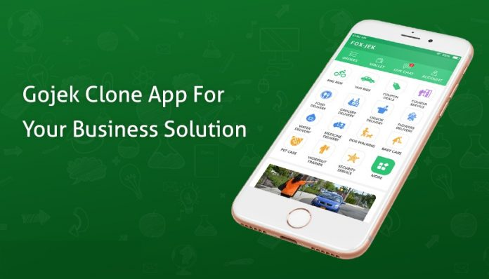 Start Your Business with GoJek Clone