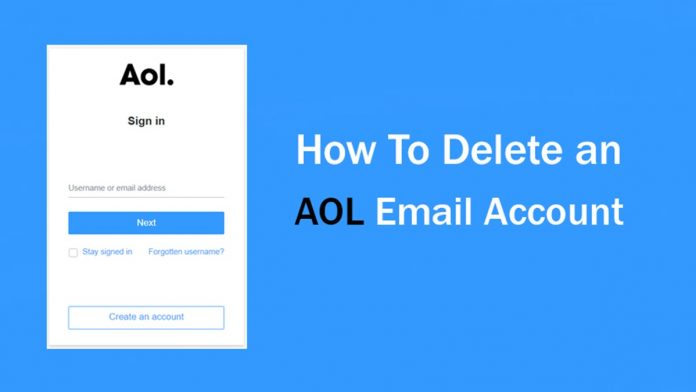 How to Delete AOL Mail Account