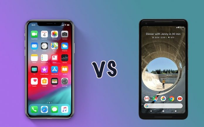 Android V/s iPhone