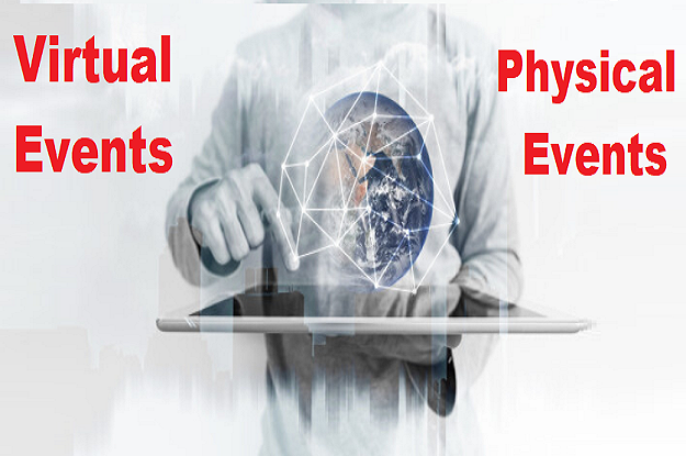 Definitive Difference Between Virtual Events and Physical Events